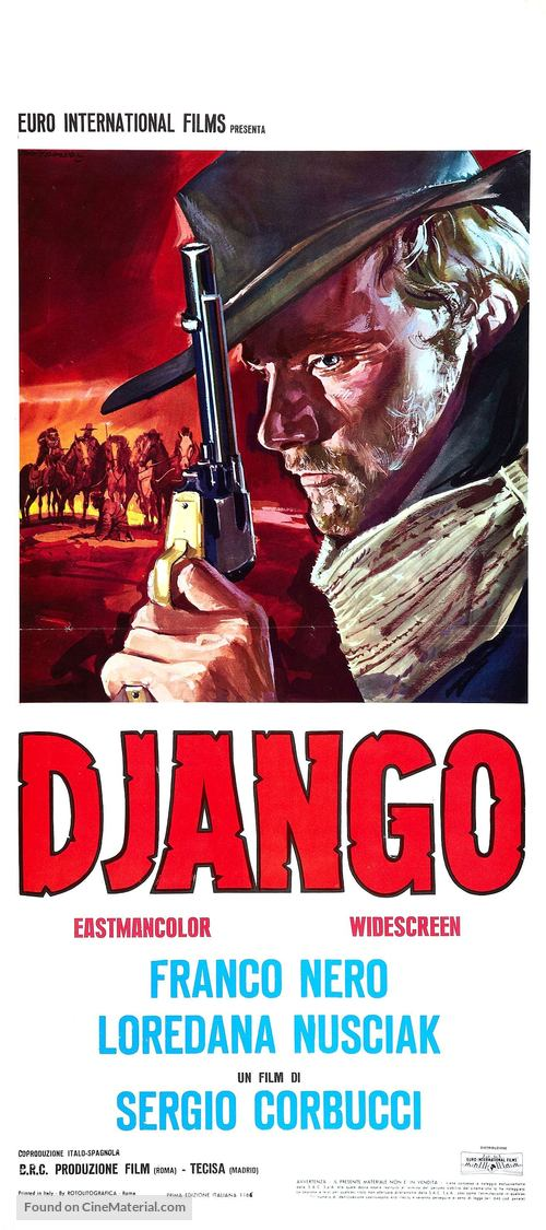 Django - Italian Movie Poster