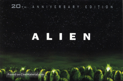 Alien - DVD movie cover