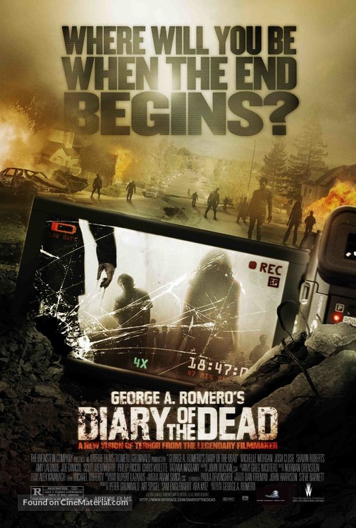 Diary of the Dead - Movie Poster