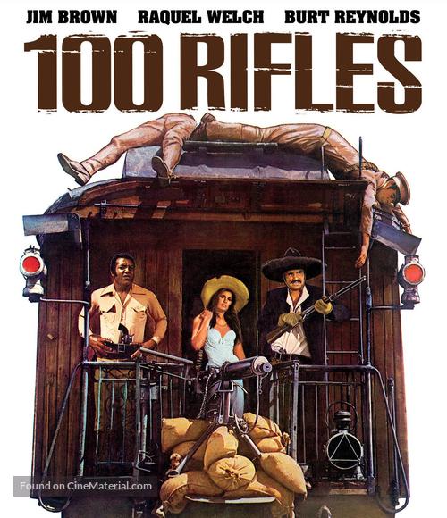 100 Rifles - Blu-Ray movie cover