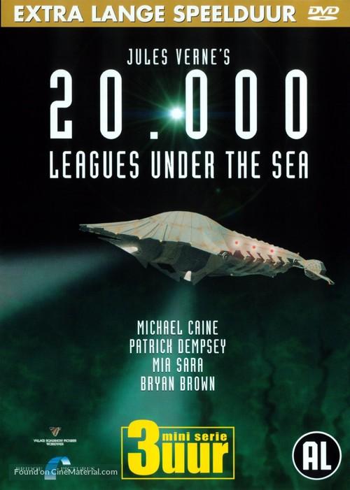 20,000 Leagues Under the Sea - Dutch poster
