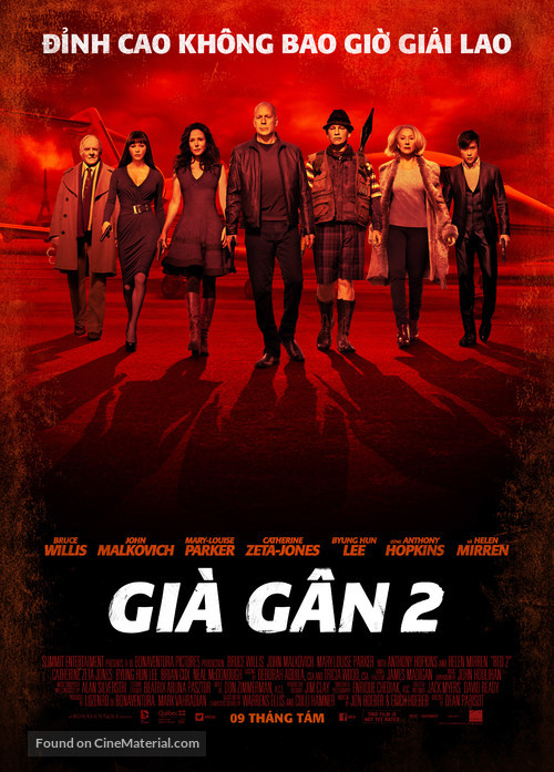 RED 2 - Vietnamese Movie Poster