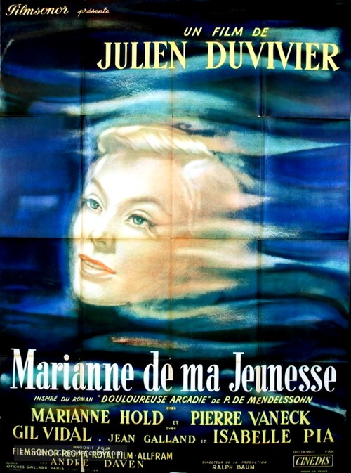 Marianne - French Movie Poster