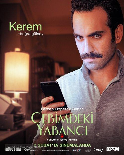Cebimdeki Yabanci (2018) Turkish movie poster