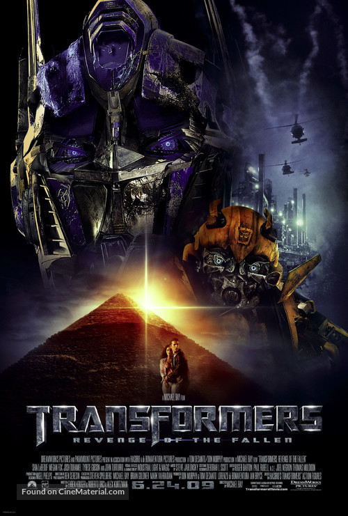 Transformers: Revenge of the Fallen - Movie Poster