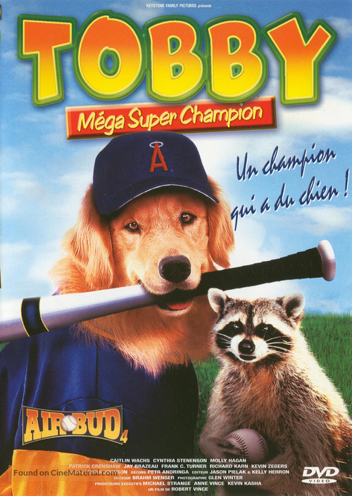 Air Bud: Seventh Inning Fetch - French DVD movie cover