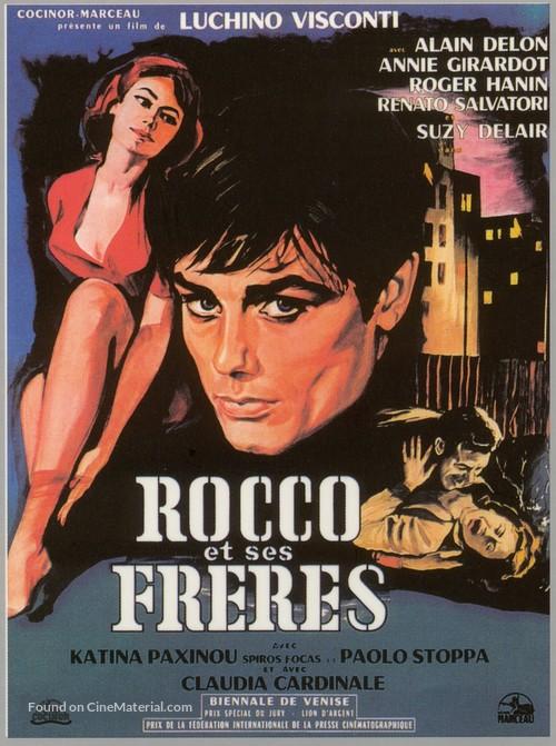 Rocco e i suoi fratelli - French Movie Poster