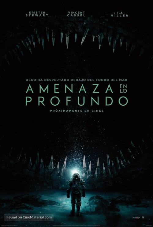 Underwater - Argentinian Movie Poster