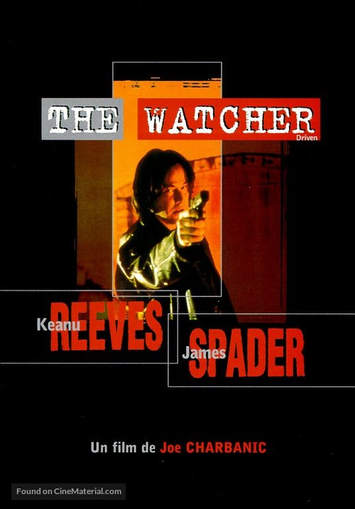 The Watcher - French DVD movie cover
