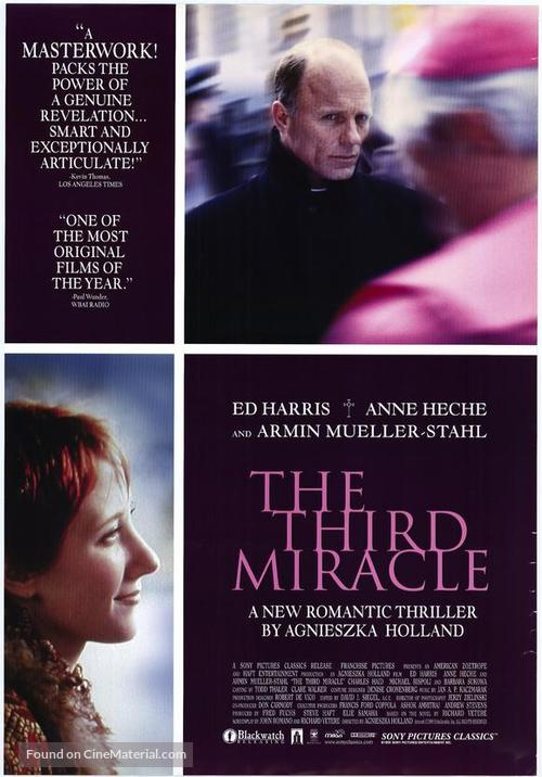 The Third Miracle - Movie Poster