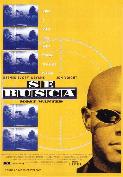Most Wanted - Spanish Movie Poster