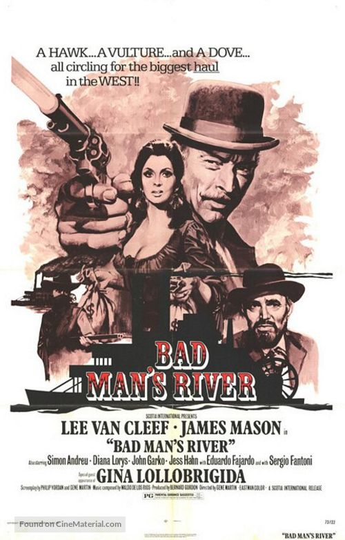 Bad Man's River - Movie Poster