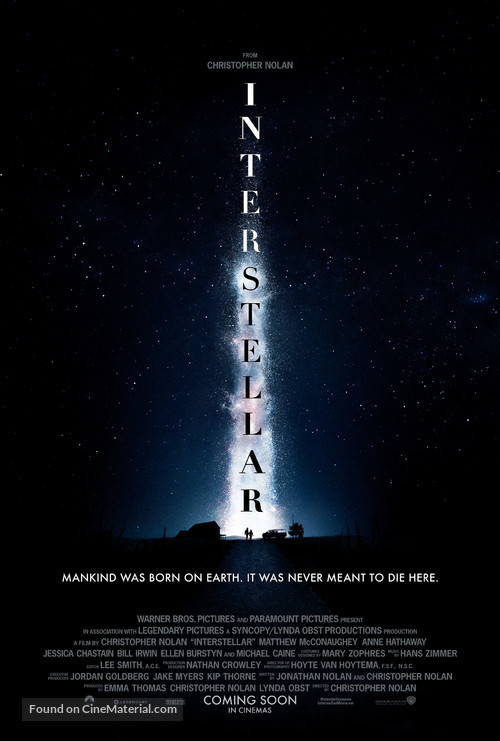 Interstellar - Teaser poster