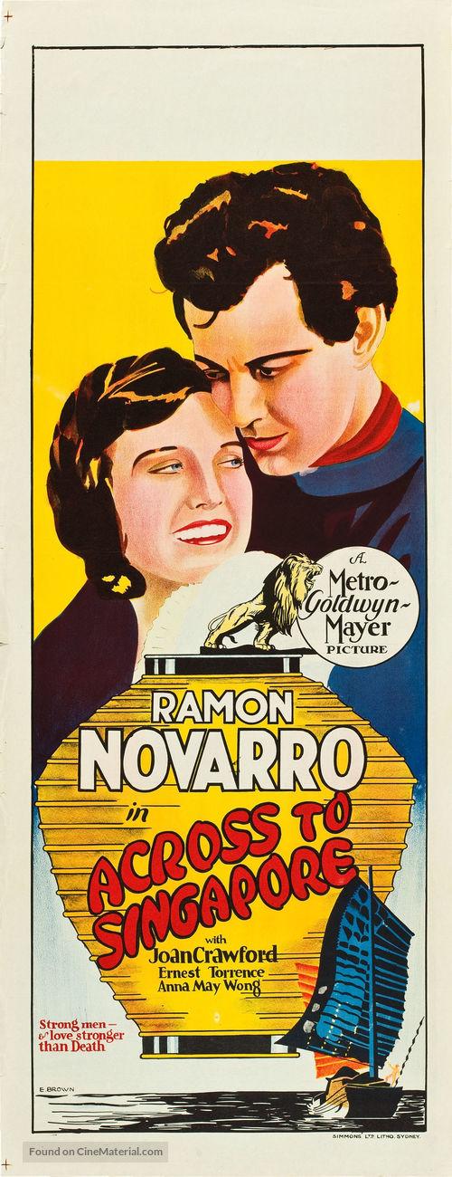 Across to Singapore - Australian Movie Poster