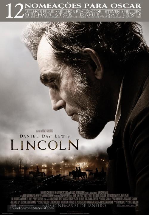 Lincoln - Portuguese Movie Poster
