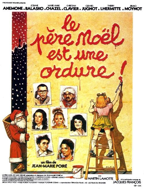 Le père Noël est une ordure - French Movie Poster
