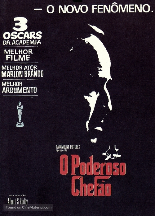 The Godfather - Brazilian Movie Poster