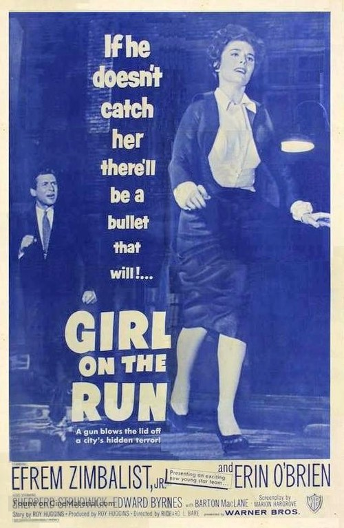 Girl on the Run - Movie Poster