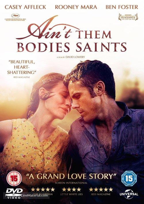Ain't Them Bodies Saints - British DVD movie cover