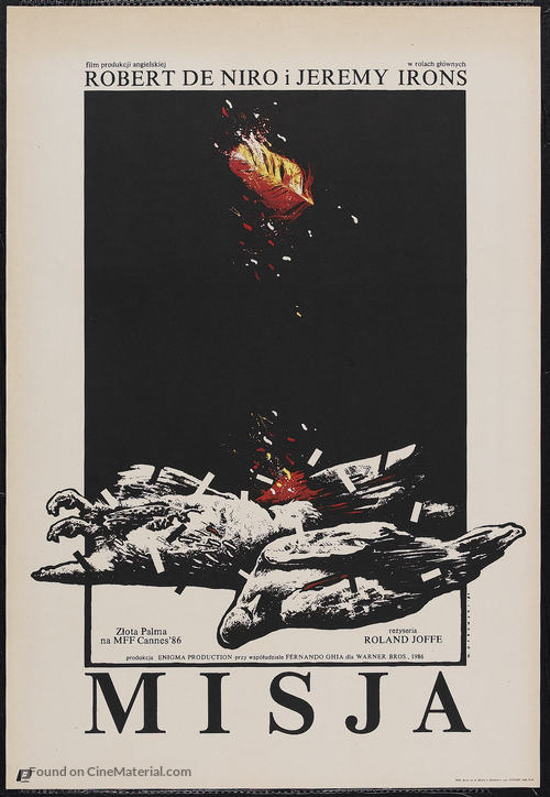 The Mission - Polish Movie Poster