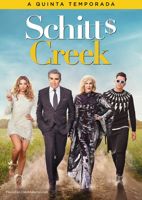 """Schitt's Creek"" - Brazilian Movie Cover"