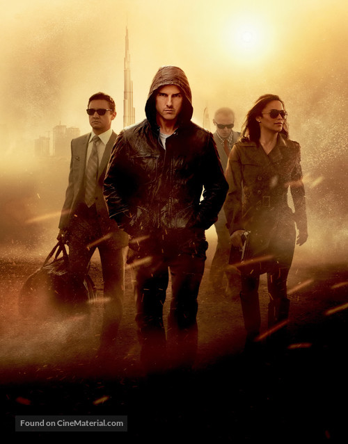 Mission: Impossible - Ghost Protocol - Key art