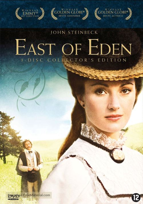 """East of Eden"" - Dutch DVD movie cover"