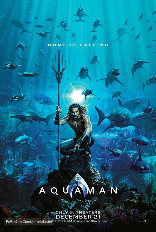 Aquaman - Teaser movie poster