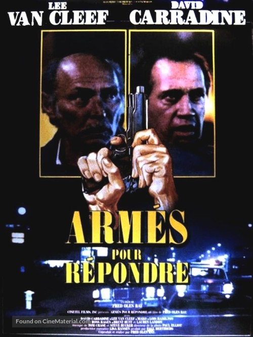 Armed Response - French Movie Poster