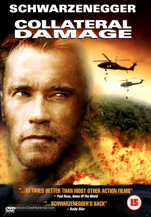 Collateral Damage - British DVD movie cover