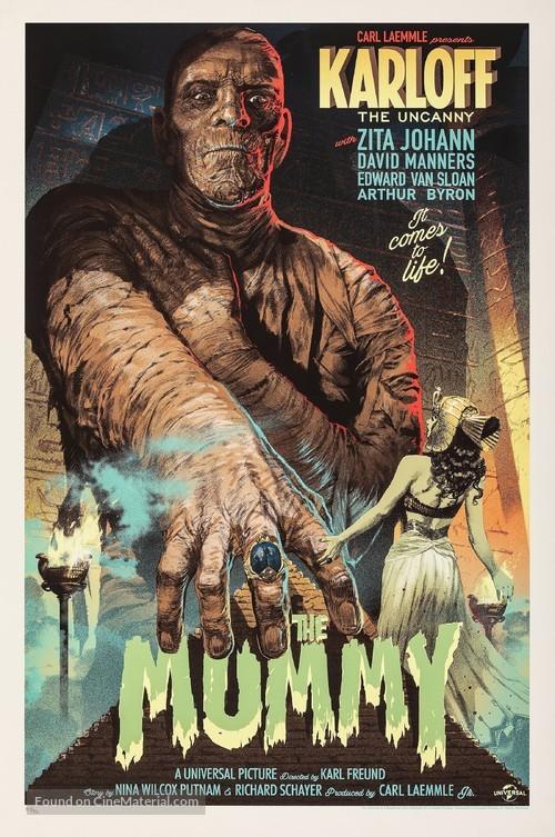 The Mummy - Movie Poster