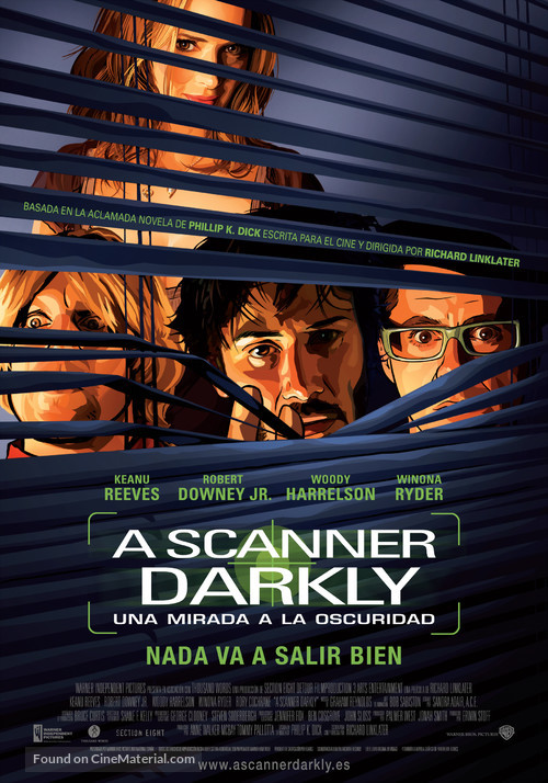 A Scanner Darkly - Spanish Movie Poster