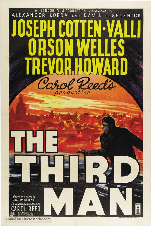 The Third Man - British Movie Poster