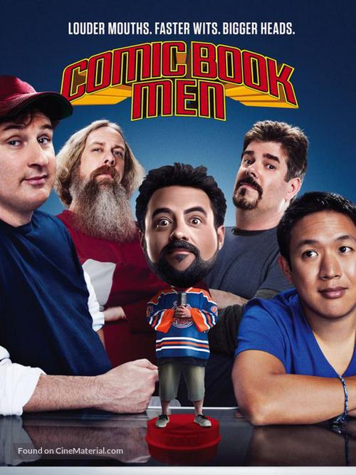 """Comic Book Men"" - Movie Cover"