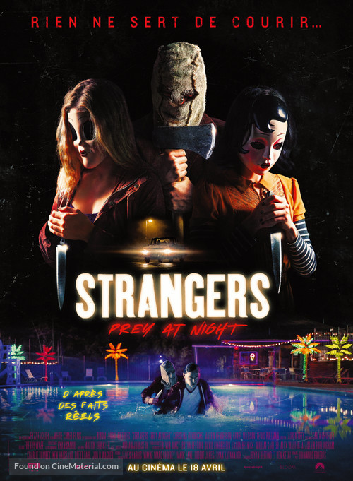 The Strangers: Prey at Night - French Movie Poster