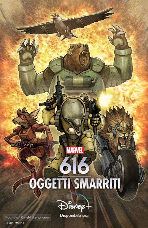 """Marvel's 616"" - Italian Movie Poster"
