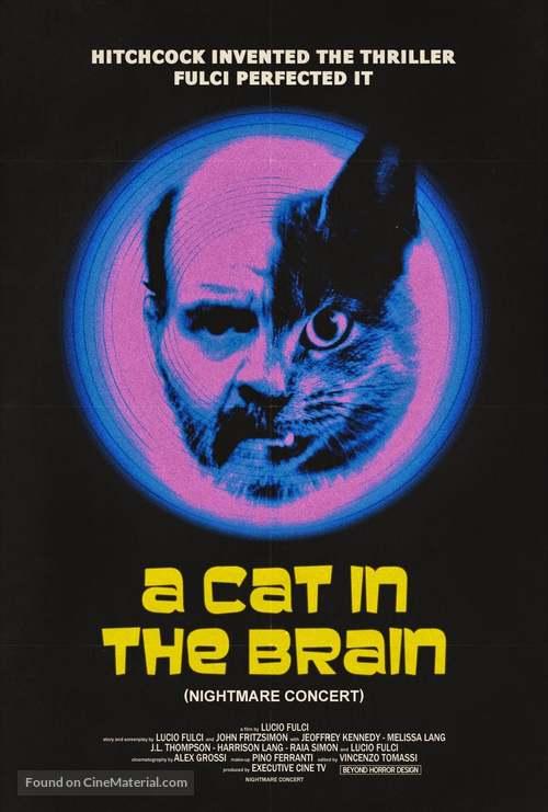 Un gatto nel cervello - Movie Poster