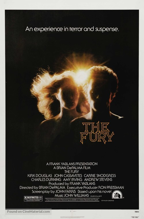 The Fury - Movie Poster