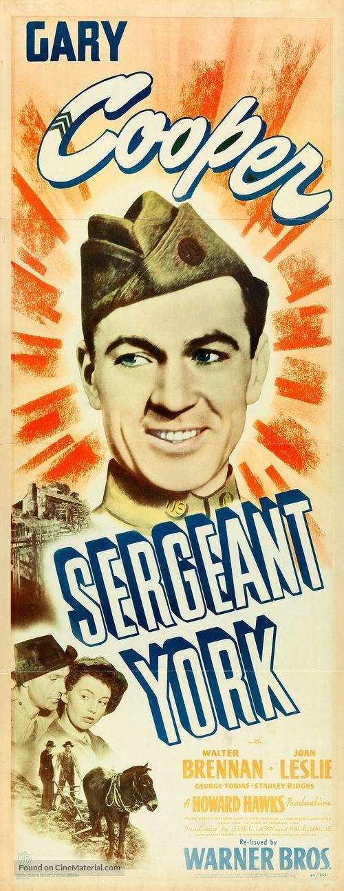 Sergeant York - Movie Poster