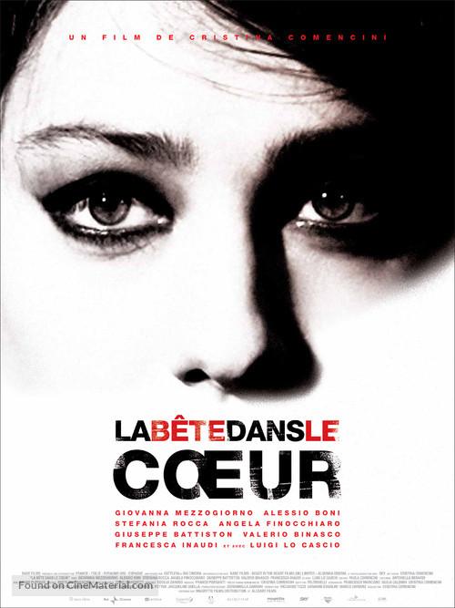 Bestia nel cuore, La - French Movie Poster