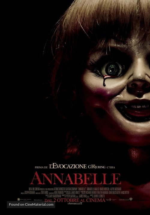 Annabelle - Italian Movie Poster