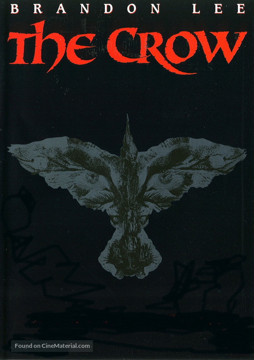 The Crow - DVD movie cover