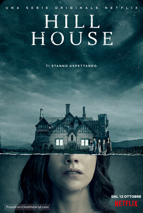 """The Haunting of Hill House"" - Italian Movie Poster"