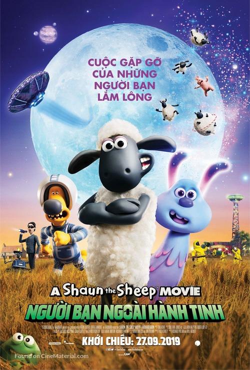 A Shaun the Sheep Movie: Farmageddon - Vietnamese Movie Poster