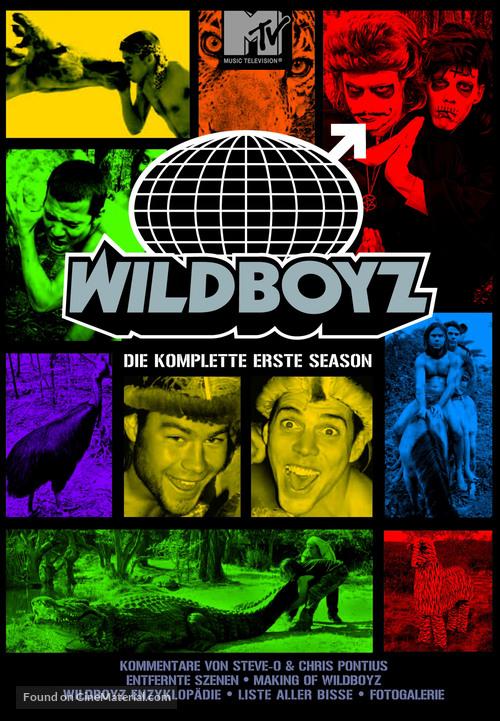 """""""Wildboyz"""" - German DVD movie cover"""