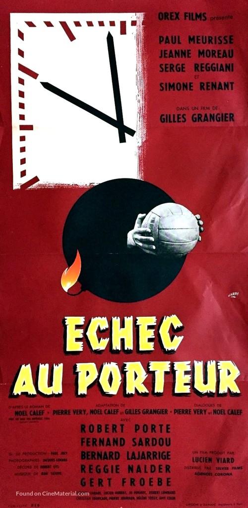 Échec au porteur - French Movie Poster