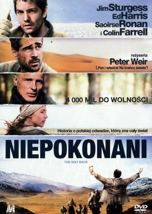 The Way Back - Polish Movie Cover