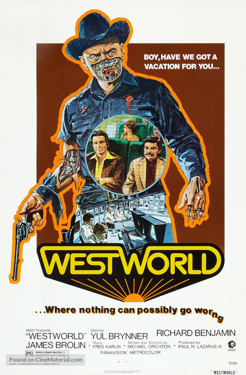 Westworld - Theatrical movie poster