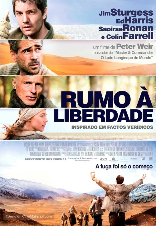 The Way Back - Portuguese Movie Poster