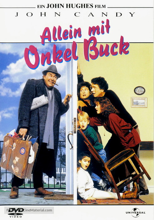Uncle Buck - German DVD movie cover